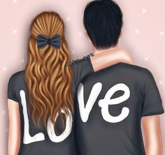50 romantic quotes in english arabic love quotes, inspirational quotes abou Love Cartoon Couple, Cute Love Cartoons, Anime Love Couple, Girl Cartoon, Girly M, Cute Couple Drawings, Cute Love Couple, Girly Drawings, Cute Girl Drawing