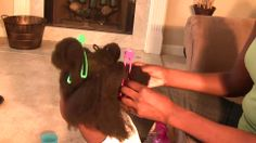 ♥ 1 ♥ Detangling Children's Natural Hair -Tear free! (Pre-wash)