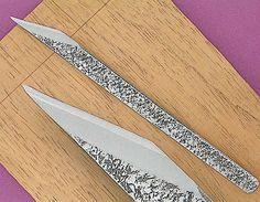 "1/2""Right Handed Blue Steel Woodworking Knife (Kogatana) $22.00"