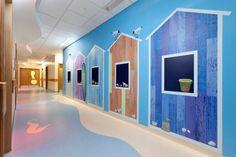 Salisbury Hospital Children's Unit - Altro Whiterock Digiclad