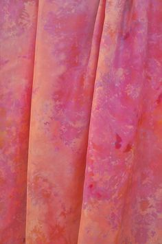 Silk Yardage, Hand dyed silk, 45W x 70L inches, Silk fabric, Sewing fabric, Home decor fabric, Tablecloth, Window covering, Habotai silk by FireandIceTextile on Etsy