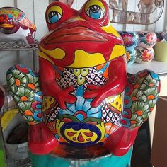 Mexican Garden, Vera Bradley Backpack, Pottery, Design, Old Town, Rooster Painting, Ceramica, Pottery Marks