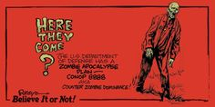 Zombie Apocolypse, Apocalypse, Zombie Plan, Comic Books, How To Plan, Cartoons, Comics, Comic Book, Graphic Novels