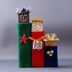 The three wise men on pinterest three wise men dia de for Three wise men craft