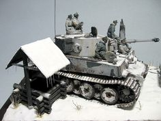 Tiger Tank 1/35 - feel the cold just looking at this!