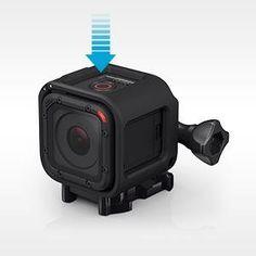 GoPro HERO4 Session - Videocámara deportiva (8 Mp, Wi-Fi, Bluetooth, sumergible hasta 10 m): 199 €
