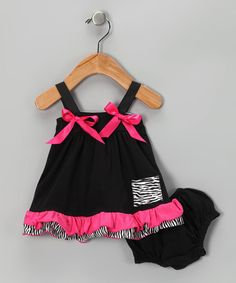 Super Cute!! Swing Top & Diaper Cover  http://www.zulily.com/invite/jpalmer893/p/black-hot-pink-swing-top-diaper-cover-infant-23268-1946740.html?tid=referral_pinterest