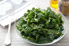This marinated Kale Salad with lemon mustard vinaigrette and parmesan will make anyone a kale lover.