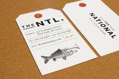 7 | The National Wins Award For Top Restaurant Branding Of 2011 [Slideshow] | Co.Design: business + innovation + design