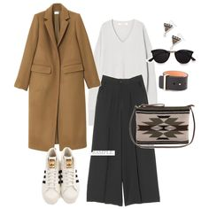 オトナ女子アウター8 Fashion Mode, Office Fashion, Minimal Fashion, Sport Fashion, Womens Fashion, Fashion Trends, Casual Work Wear, Japan Outfit, Winter Wardrobe