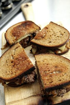 Patty Melt recipe | http://davidlebovitz.com