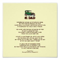 Father's Day Dad Jokes Happy Fathers Day Poems, Easy Fathers Day Craft, Fathers Day Quotes, Diy Mothers Day Gifts, Husband Quotes, Diy Gifts, Diy Father's Day Poster, Missing My Son, Father's Day Diy