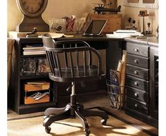 Awesome home office ideas or #mancave