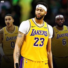 "Team Lakers on Instagram: ""Lakers' Anthony Davis breaks silence for his first interview since trade __ ""My goal is to win a championship,"" Davis said. ""I expect to…"" Mba Basketball, Basketball Posters, Basketball Pictures, Lakers Wallpaper, Nba Trades, Lebron James Lakers, Kyle Kuzma, Interview, Nba Wallpapers"