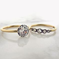 99180b62c6f The all new Starry Night diamond engagement ring and wedding band