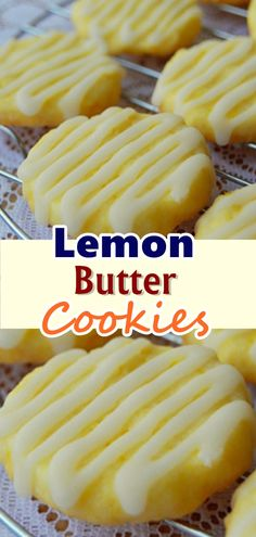 Ingredients: For the Cookies: 1 cup & 2 tablespoons All-Purpose Flour cup Sugar 1 tablespoon Lemon Zest, finely grated 7 tablespoons Unsalted Butter, cut into cubes 1 Egg Yolk For the Glaze: 1 cup Powdered Sugar 3 tablespoons Lemon Juice, fresh Cooking Cookies, Cookie Desserts, Cookie Recipes, Dessert Recipes, Cookie Ideas, Lemon Recipes, Baking Recipes, Sweet Recipes, Healthy Lemon Desserts