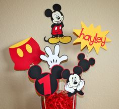 Mickey Mouse Minnie Mouse Disney Party Birthday
