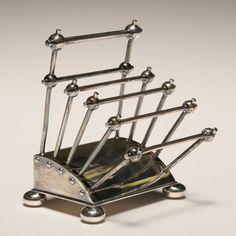 Christopher Dresser silver - toast rack