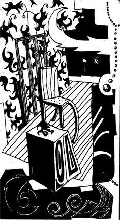 mariusz kruk , drawing on paper, www.mariuszkruk.pl