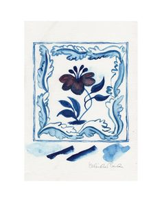 Red Hibiscus  The Shop Floor Project delved into the sketchbooks of British ceramicist Claudia Rankin, and found a series of beautiful watercolour sketches she'd made for her popular hand painted tiles. They brought to mindthe drawings at the V&A Museum of the tile designs from William De Morgan andGodfreySykes. We immediatelybegan work, transforming Claudia's studiesinto a limited edition print collection.