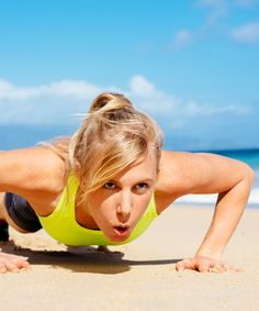 The 4 Ps Workout: Push-ups, Planks, Pilates and Power Yoga!