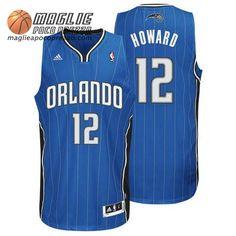 Canotte nba Howard  12 blu Orlando Magic Dwight Howard fb7a3f702