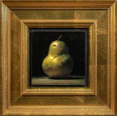 Jeffrey Hayes: Contemporary Still Life Paintings: Pear No. Chiaroscuro, Interior Inspiration, Still Life, Pear, Frames, Paintings, Contemporary, Pictures, Image