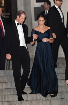 Royal Flush  - Kate Middleton Jenny Packham-Wmag