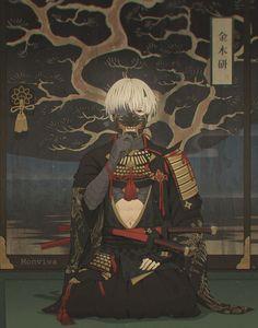 Samurai Kaneki-kun ^^