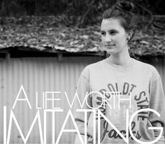 A LIFE WORTH IMITATING: Meet Tuesday Thornton! Read more on the Barnabas Clothing Co. Blog.