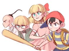 Gaby (Search results for: Earthbound ) Mother Games, Cool Art, Fan Art, Random Things, Nintendo, Anime, Fictional Characters, Search, Instagram