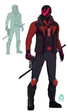 devilboy the ninja Character Outfits, Comic Character, Character Concept, Superhero Characters, Fantasy Characters, Armor Concept, Concept Art, Whyt Manga, Ichigo Y Rukia
