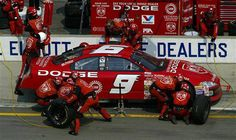 Bill Elliott wins 2002 Brickyard 400   (photo: NASCAR Images)