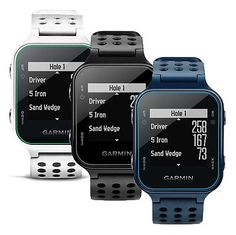 Rangefinders and Scopes 111289: New Garmin Approach S20 Preloaded Golf Range Finder Gps Watch 2016 Choose Color! BUY IT NOW ONLY: $199.99