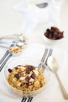 Cinnamon Raisin Breakfast Quinoa