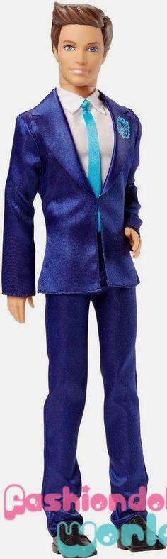 Ken Doll: Barbie Fashionistas, Style & Rock'n Royals 2015
