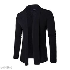 Checkout this latest Shrugs Product Name: *Look Men Cotton Casual Shrug* Sizes:  S, M, L, XL, XXL Country of Origin: India Easy Returns Available In Case Of Any Issue   Catalog Rating: ★3.8 (776)  Catalog Name: New Look Men Cotton Casual Shrugs Vol 13 CatalogID_623568 C70-SC1469 Code: 692-4345590-456