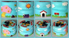 Woezel en Pip taart door Jolien Drost