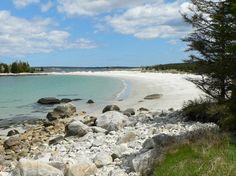 Beach Vacation - Carters Beach in Liverpool Nova Scotia The Maritimes Canada