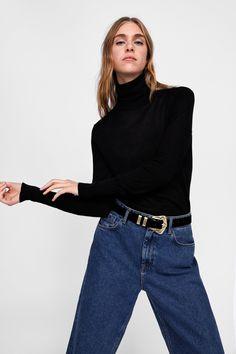 Bild 2 von WEICHER PULLOVER von Zara Zara, Pullover, My Outfit, Knitwear, Mom Jeans, Normcore, Turtle Neck, Style Inspiration, Sweaters
