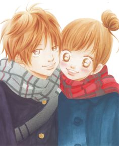 Bokura Ga Ita Yano and Nana Cute Anime Pics, Anime Love, Anime Couples, Cute Couples, Bokura Ga Ita, Manga Anime, Anime Art, Black Rock Shooter, Cartoon Games