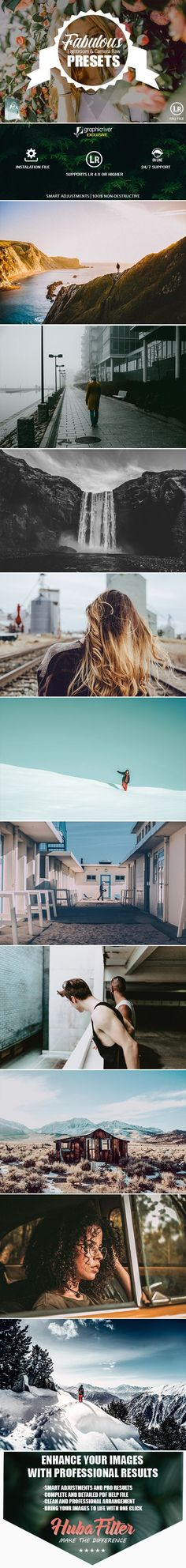 35 Fabulous Collection Presets For Lightroom & Camera Raw - #Lightroom #Presets #Add-ons Download here: https://graphicriver.net/item/35-fabulous-collection-presets-for-lightroom-camera-raw/19740439?ref=alena994