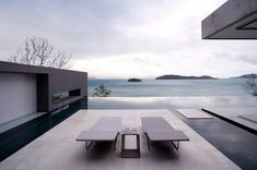 Renato D'Ettorre Architects have designed Azuris, a home located on Hamilton Island in Australia.