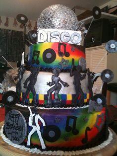 Disco cake Beths by busybcakes, via Flickr