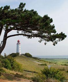 Dornbusch Lighthouse on Hiddensee, a small, carless island a short ferry ride from Rügen.