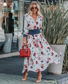 Модная весна 2019: 16 очаровательных образов с платьями