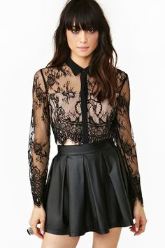 Wicked Lace Blouse