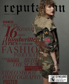 reputation magazines Vol.1 & Vol. 2 Target exclusive.  Nov. 10.  Pre-order now.