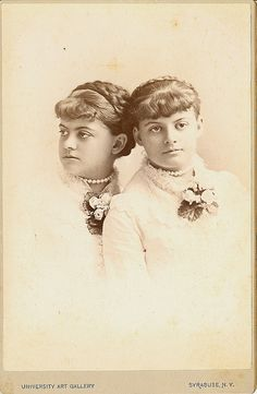 Twins from Syracuse New York... posed