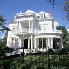 USA, Louisiana, New Orleans, Greek Revival Mansion  -